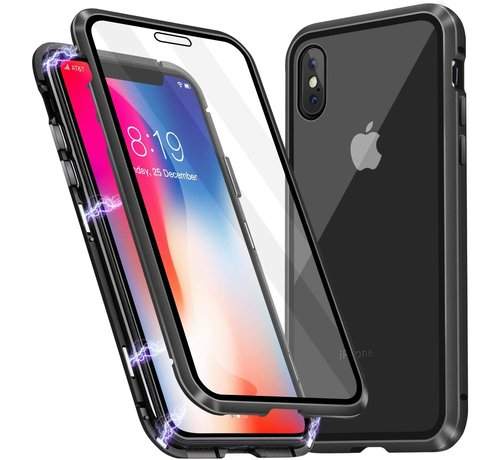ShieldCase® ShieldCase Magnetisch hoesje met glasplaat iPhone X / Xs