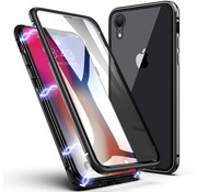 ShieldCase® Magnetisch hoesje iPhone met glasplaat iPhone Xr