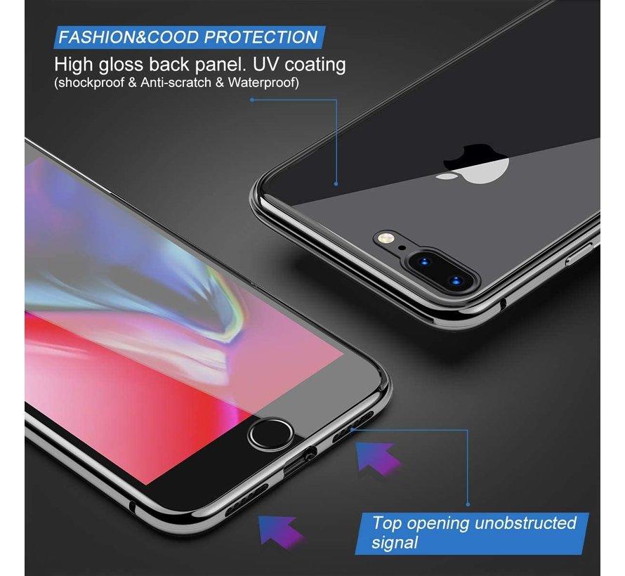 ShieldCase Magnetisch hoesje met glasplaat iPhone 8 Plus / iPhone 7 Plus