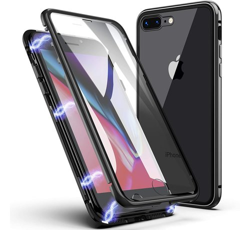 ShieldCase ShieldCase Magnetisch hoesje met glasplaat iPhone 8 Plus / iPhone 7 Plus