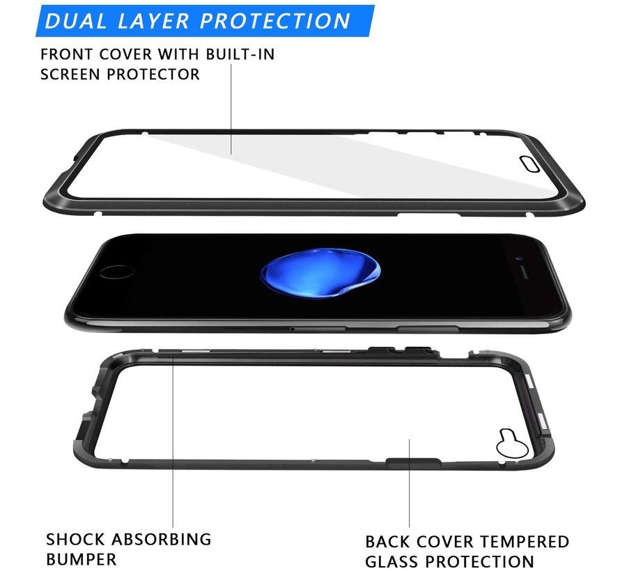 ShieldCase Magnetisch hoesje met glasplaat iPhone 8 / iPhone 7