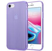 ShieldCase® Gekleurde laser case iPhone 8 / 7 (paars)
