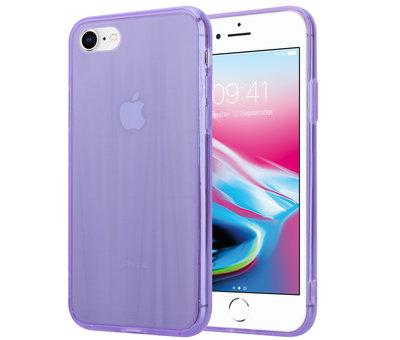 ShieldCase Shieldcase Gekleurde laser case iPhone 8 / 7 (paars)