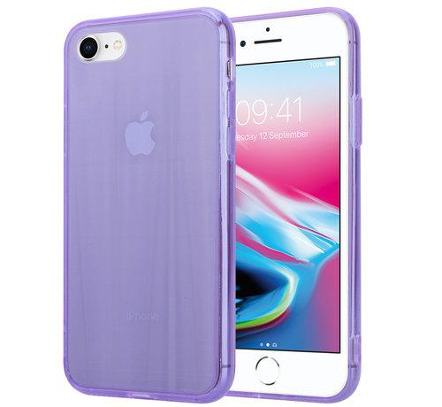 ShieldCase® Shieldcase Gekleurde laser case iPhone 8 / 7 (paars)