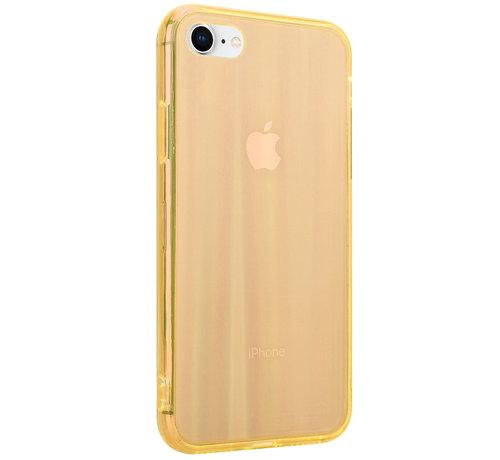 ShieldCase® Shieldcase Gekleurde laser case iPhone 8 / 7 (oranje)