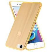 ShieldCase® Gekleurde laser case iPhone SE 2020 (oranje)