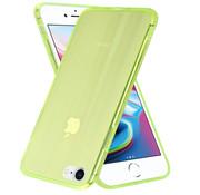 ShieldCase® Gekleurde laser case iPhone SE 2020 (groen)