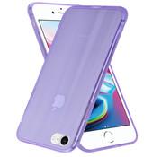 ShieldCase® Gekleurde laser case iPhone SE 2020 (paars)