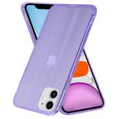 ShieldCase® Gekleurde laser case iPhone 11 (paars)
