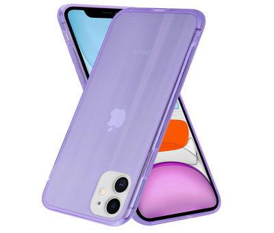 ShieldCase® Shieldcase Gekleurde laser case iPhone 11 (paars)