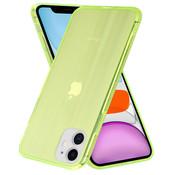 ShieldCase® Gekleurde laser case iPhone 11 (groen)