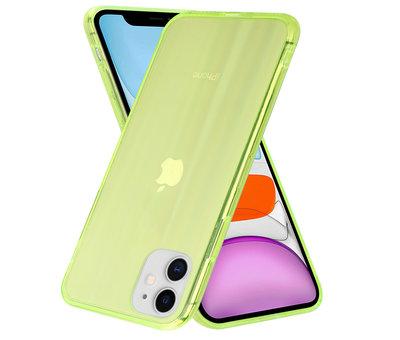 ShieldCase® Shieldcase Gekleurde laser case iPhone 11 (groen)
