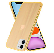 ShieldCase® Gekleurde laser case iPhone 11 (oranje)