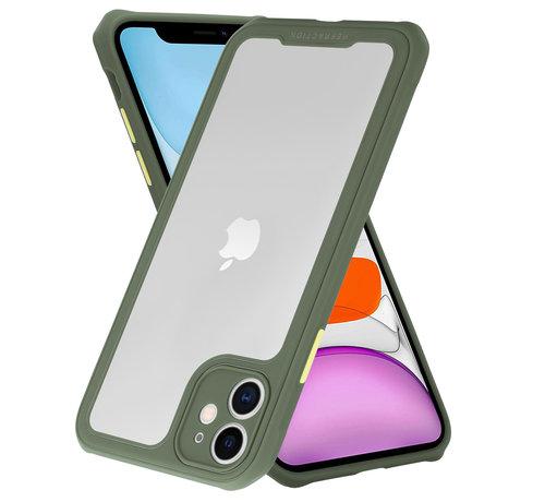 ShieldCase® Shieldcase iPhone 11 full protection case (groen)