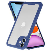 ShieldCase® iPhone 11 full protection case (blauw-paars)