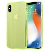ShieldCase® Gekleurde laser case iPhone X / Xs (groen)