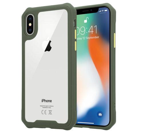 ShieldCase® Shieldcase iPhone X / Xs full protection case (groen)