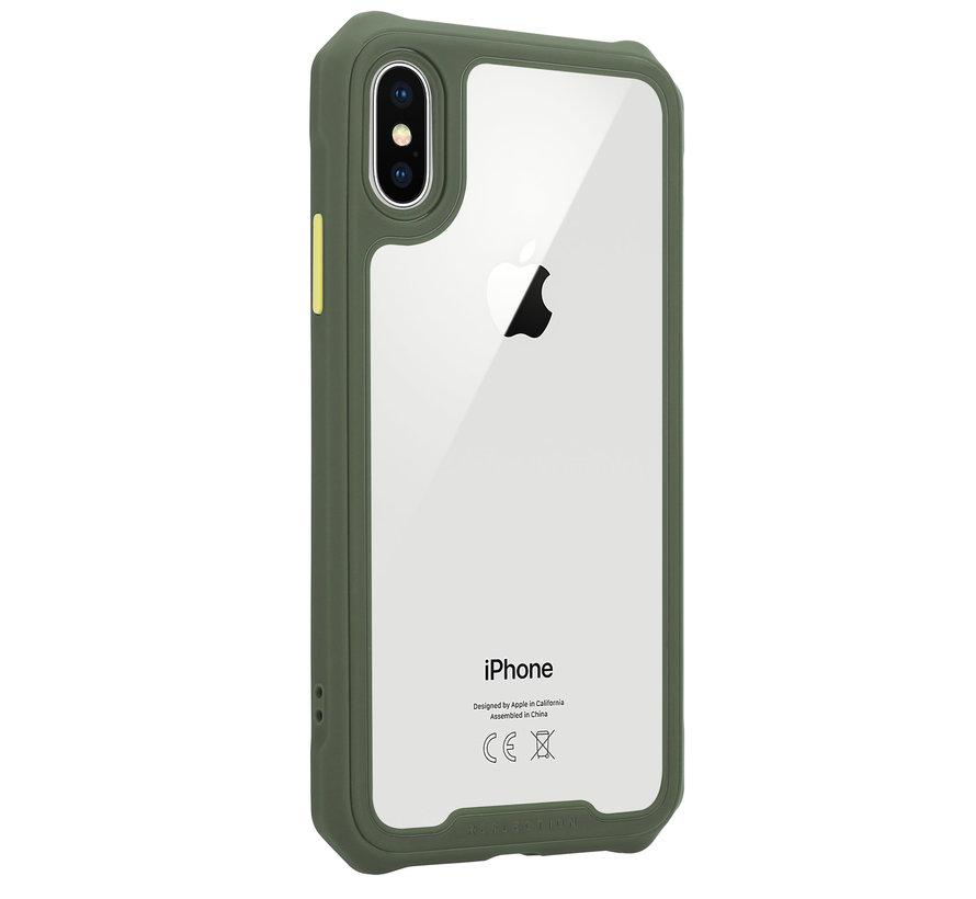 Shieldcase iPhone X / Xs full protection case (groen)
