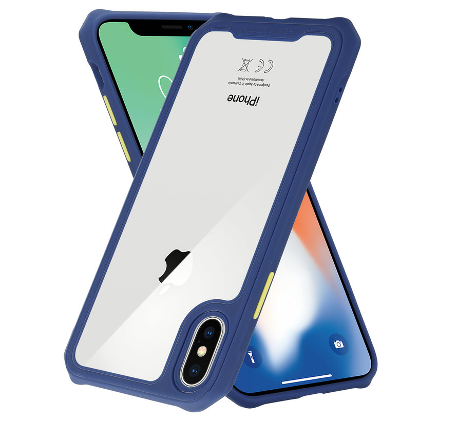 Shieldcase iPhone X / Xs full protection case (paars)