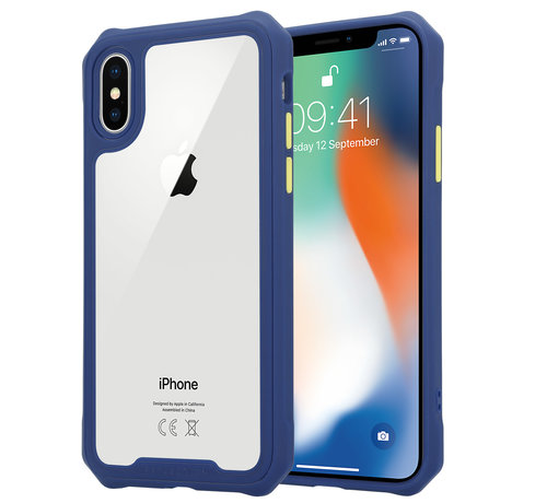 ShieldCase® Shieldcase iPhone X / Xs full protection case (paars)