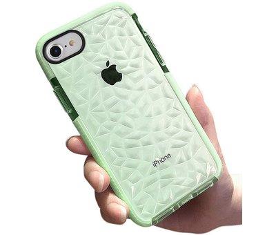 ShieldCase® ShieldCase diamanten case iPhone SE 2020 (groen)