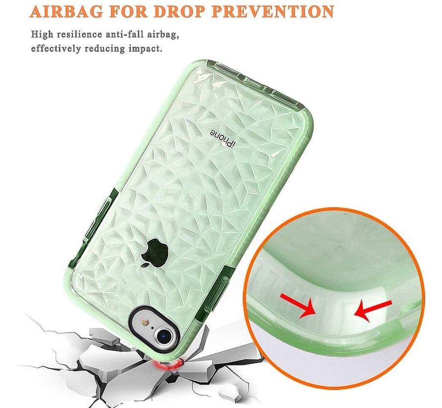 ShieldCase diamanten case iPhone SE 2020 (groen)