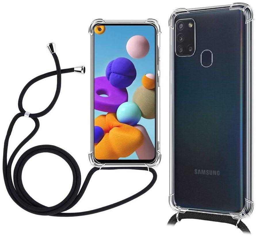 ShieldCase Samsung Galaxy A31 shock hoesje met koord