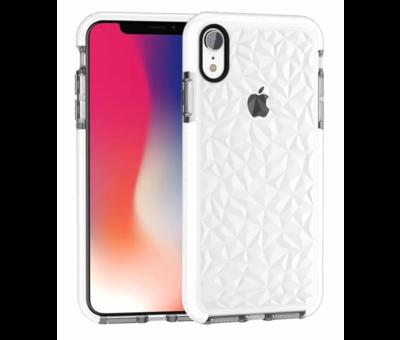 ShieldCase® ShieldCase diamanten case iPhone 7 / 8 (wit)