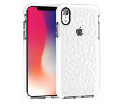 ShieldCase® ShieldCase diamanten case iPhone SE 2020 (wit)