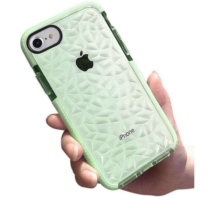 ShieldCase You're A Diamond iPhone 8 Plus / 7 Plus hoesje (groen)