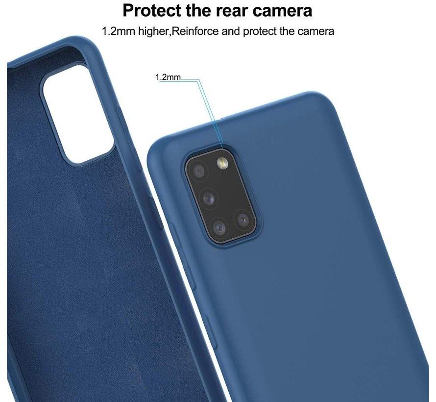 Shieldcase Samsung Galaxy A31 siliconen hoesje (blauw)