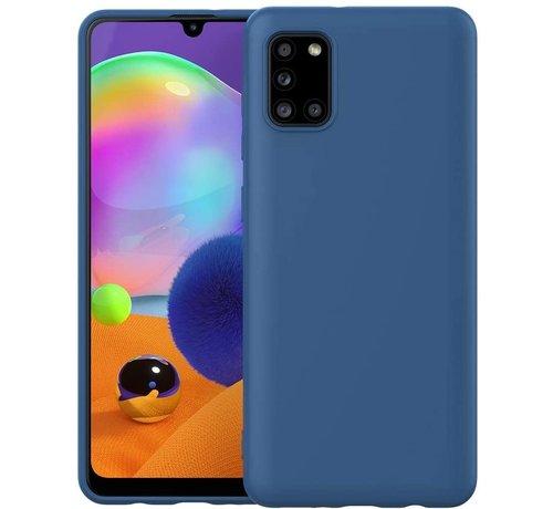 ShieldCase® Shieldcase Samsung Galaxy A31 siliconen hoesje (blauw)