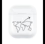 ShieldCase® Wanderlust Apple Airpods case (transparant)