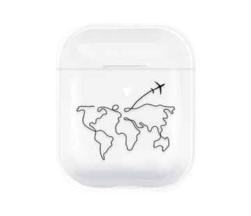 ShieldCase® Wanderlust Apple Airpods case (transparant)