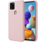 ShieldCase® Samsung Galaxy A21s siliconen hoesje (roze)