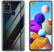 ShieldCase® Samsung Galaxy A21s Ultra thin case (transparant)