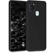 ShieldCase® Samsung Galaxy A21s siliconen hoesje (zwart)