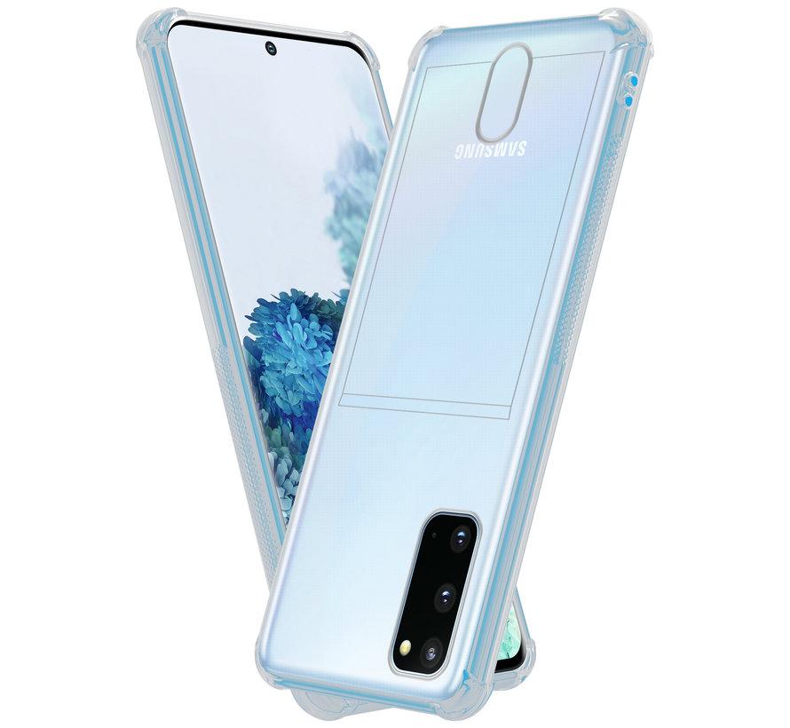 ShieldCase Samsung Galaxy A31 Shock case met pashouder