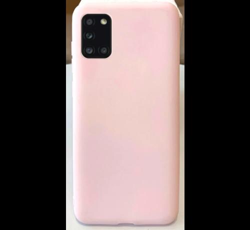 ShieldCase Shieldcase Samsung Galaxy A31 siliconen hoesje (roze)
