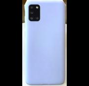 ShieldCase Samsung Galaxy A31 siliconen hoesje (paars)