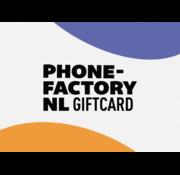 Phone-Factory.nl Cadeaukaart