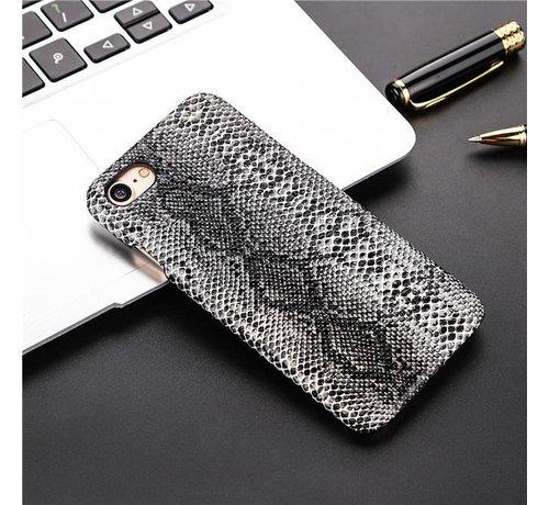 ShieldCase ShieldCase Slangenleer hoesje iPhone 7/8 (zwart-wit)