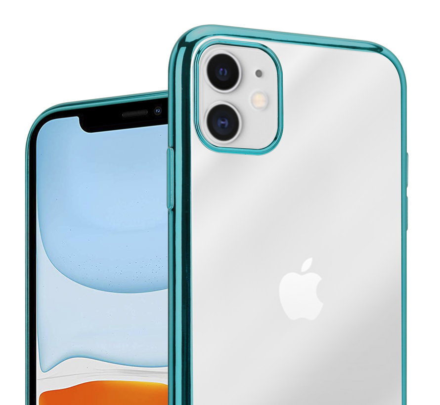 ShieldCase groene metallic bumper case iPhone 11
