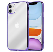ShieldCase® Paarse metallic bumper case iPhone 11