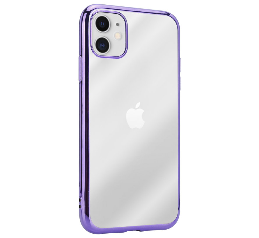 ShieldCase paarse metallic bumper case iPhone 11