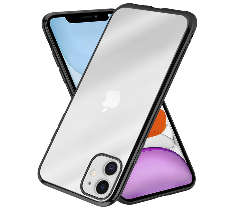 ShieldCase iPhone 11 metallic bumper case (zwart)