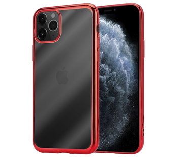 ShieldCase® iPhone 11 Pro metallic bumper case (rood)