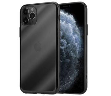 ShieldCase® Zwarte metallic bumper case iPhone 11 Pro