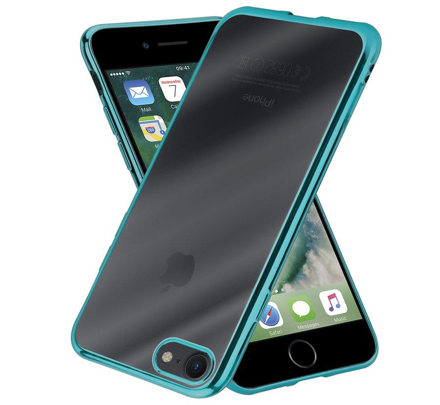 ShieldCase groene metallic bumper case iPhone 8 / 7