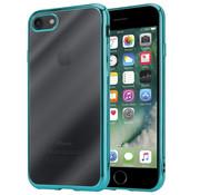 ShieldCase® Groene metallic bumper case iPhone 8 / 7